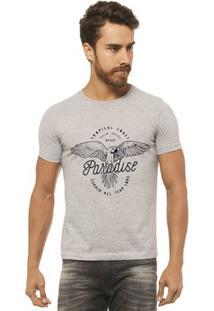 Camiseta Joss - Paradise - Masculina - Masculino-Mescla