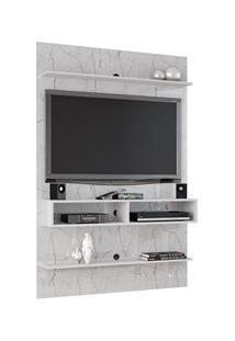 Painel Suspenso Para Tv Até 47 Pol. Vega Carrara/Preto Fosco - Bechara