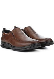 Sapato Social Pipper Alten Masculino - Masculino-Marrom