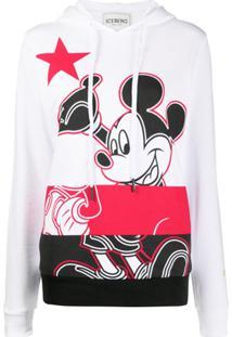 Iceberg Mickey Mouse Hoodie - Branco