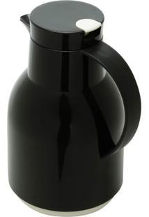 Garrafa Térmica Rojemac De Plástico Com Gatilho Julia Preta - Kanui