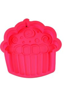 Forma Dolce Home Em Silicone Cup Cake Rosa