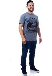 Camiseta Zero Rail Masculina - Masculino-Mescla Escuro