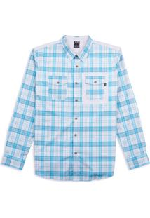 Camisa Masc Manga Longa O-Plaid