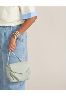 Bolsa Pequena Envelope - Menta U