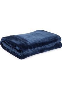 Cobertor Queen Kacyumara Blanket Azul
