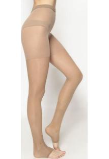 Meia Calça Sem Ponteira Suave Compressão- Nude- Zorbzorba