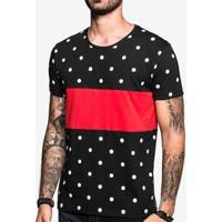 Camiseta Hermoso Compadre Poá Recorte - Masculino-Preto dcbc2ff139e