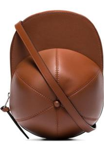 Jw Anderson Cap Shoulder Bag - Marrom