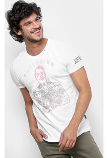 Camiseta Replay Tattooing Masculina - Masculino