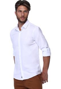 Camisa Branca King&Joe Básica