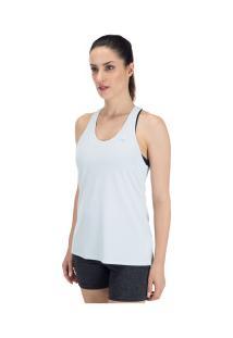Camiseta Regata Mizuno Run Tech - Feminina - Azul Claro