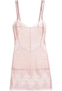 Camisola Renda Embrace Lace Rosa Mauve