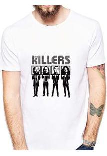 Camiseta Coolest The Killers Masculina - Masculino-Branco