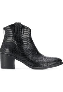 Strategia Ankle Boot 'Hem' - Preto