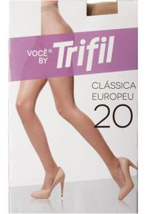 Meia-Calça Feminina Trifil Natural Claro