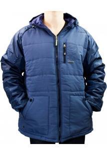 Jaqueta Masculina Gangster Dupla Face 56.07.0014 - Masculino-Azul