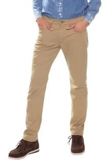 Calça Levi'S Slim Masculina - Masculino-Bege
