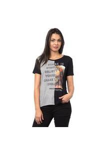 Camiseta Recorte Sock-Gg