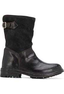 Officine Creative Ankle Boot Alix - Marrom