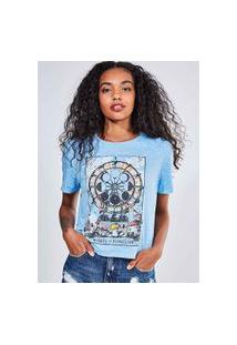 Camiseta Estampa Tarot
