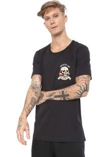 Camiseta Ed Hardy Death Or Glory Preta