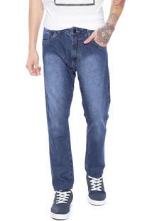 Calça Jeans Rusty Slim Six Azul