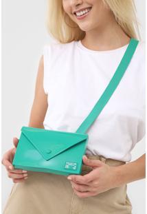 Pochete Colcci Envelope Verde - Kanui