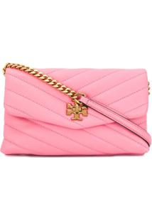 Tory Burch Quilted Cross Body Bag - Rosa