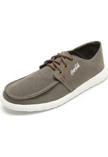 Sapatênis Coca Cola Shoes Burt Verde