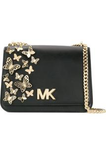 420d1fe58 Michael Michael Kors Bolsa Transversal 'Mott Butterfly' - Preto