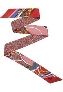 Fendi Echarpe Wrappy - Vermelho