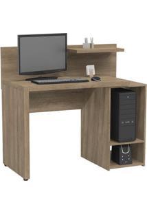 Escrivaninha Para Computador S973-No Nogal - Kappesberg