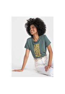 Camiseta Cantão Nature Lover Verde
