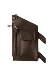 Bolsa Shoulder Bag Masculina Artlux Café