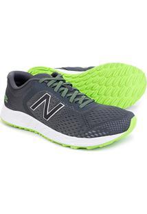 Tênis New Balance Arish V2 Masculino - Masculino-Cinza+Verde Limão