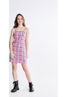 d58ea62335edf Vestido Renda Xadrez feminino