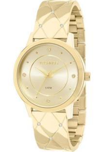 Relógio Technos Trend Feminino Analógico - 2035Mcp/4X 2035Mcp/4X - Feminino-Dourado