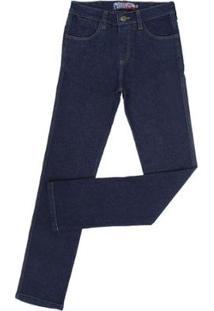 Calça Jeans Rodeo Western Masculina - Masculino-Azul