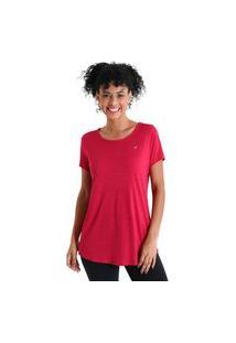 Camiseta Feminina Levíssima Energy - Rosa - Líquido