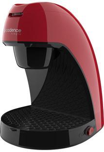 Cafeteira Single Colors Vermelha Cadence 127V