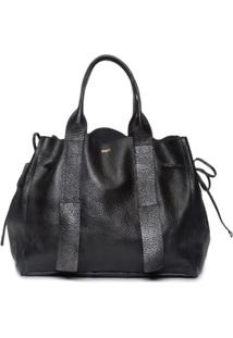 Bolsa Shopping Bag Maxi Schutz - Preto