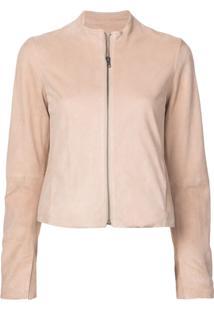 Vince Zip Front Jacket - Rosa