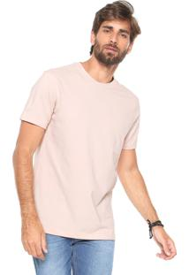Camiseta Hering Comfort Rosa