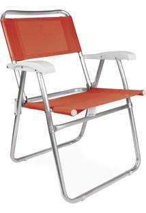 Cadeira Master Alumínio Fashion Coral