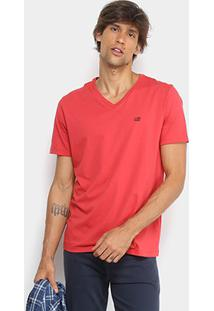 Camiseta Ellus 2Nd Floor Básica Gola V Masculina - Masculino