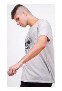 Camisa Com Estampa Caveira