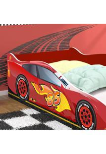 Mini Cama Carro Super Turbo 85 - Vermelho - Rpm Mã³Veis - Incolor - Dafiti