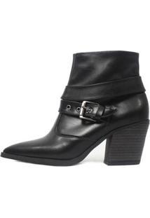 Bota Damannu Shoes Colbie Feminina - Feminino-Preto