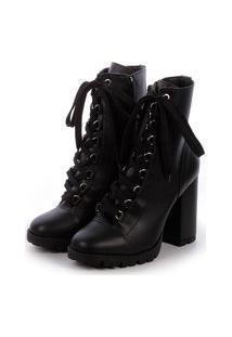 Bota Damannu Shoes Rocky Preto